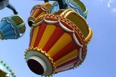 Roda de Ferris dos miúdos Fotos de Stock
