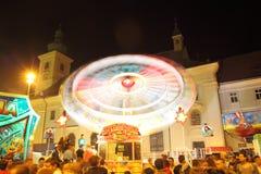 Roda de Ferris em CibinFest Fotografia de Stock