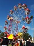 Roda de Ferris em St Kilda Festival Feb 8 2015 foto de stock