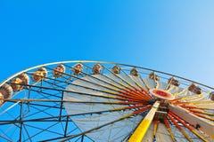 Roda de Ferris em um nascer do sol Fotos de Stock Royalty Free