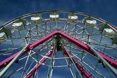 Roda de Ferris em uma feira Fotografia de Stock Royalty Free