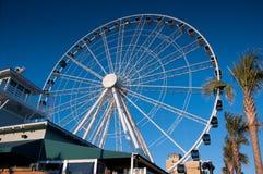 Roda de Ferris gigante fotografia de stock