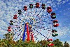 Roda de Ferris grande foto de stock