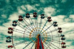a roda de Ferris grande imagens de stock royalty free