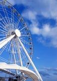 Roda de Ferris grande perto do mar Cáspio Foto de Stock