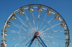 Roda de Ferris na feira de condado Fotografia de Stock Royalty Free