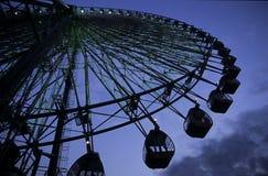 Roda de Ferris na noite Foto de Stock