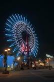 Roda de Ferris na noite Kobe Japan imagens de stock