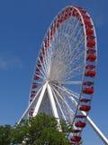 Roda de Ferris no cais da marinha Imagens de Stock Royalty Free