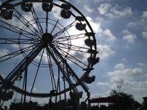 Roda de Ferris no carnaval ou Fotografia de Stock Royalty Free