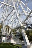 Roda de Ferris no fundo do céu azul Fotografia de Stock