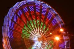 Roda de Ferris no Natal em Riga fotografia de stock royalty free