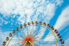 Roda de Ferris, roda da observação, roda grande Imagem de Stock Royalty Free