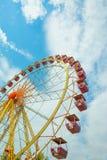 Roda de Ferris, roda da observação, roda grande Fotos de Stock Royalty Free