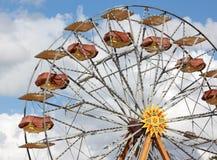 Roda de Ferris sobre o céu Fotografia de Stock Royalty Free