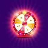 Roda de fortuna ilustração royalty free
