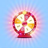 Roda de fortuna ilustração stock