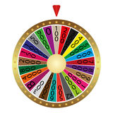 Roda de fortuna Fotografia de Stock