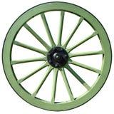 Roda de madeira Imagens de Stock Royalty Free
