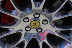 Roda de maranello do carro de Ferrari Fotografia de Stock