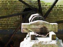 Roda de moinho em The Creek fotos de stock