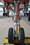 Roda de nariz dos aviões Foto de Stock Royalty Free