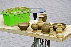 A roda de oleiro Foto de Stock Royalty Free