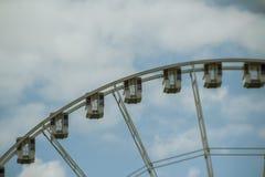 Roda de Paris Ferris Imagem de Stock Royalty Free