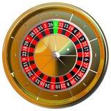 Roda de roleta do casino foto de stock royalty free
