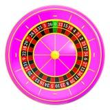 Roda de roleta do casino fotos de stock