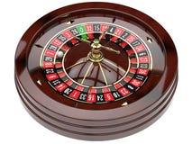 Roda de roleta do casino ilustração stock