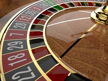 Roda de roleta do casino Foto de Stock Royalty Free