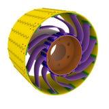 Roda de Rover Fotografia de Stock Royalty Free