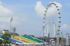 Roda de Singapore fotos de stock
