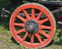 Roda de um carro velho Fotografia de Stock
