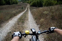 Roda de uma bicicleta Fotos de Stock