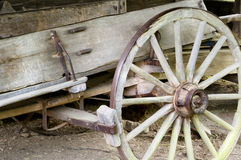 Roda de vagão fotografia de stock