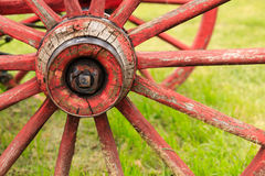 Roda de vagão antiga Imagens de Stock Royalty Free
