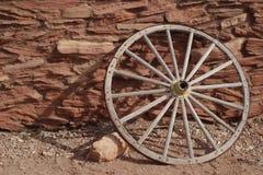 Roda de vagão da casa do Hopi fotografia de stock royalty free