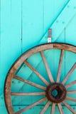 Roda de vagão do sudoeste fotografia de stock