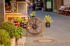 Roda de vagão decorativa Imagem de Stock