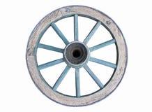 Roda de vagão velha Imagens de Stock