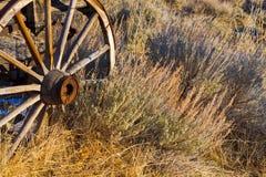 Roda de vagão velha Imagens de Stock Royalty Free