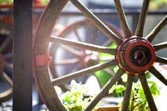 Roda de vagão Imagens de Stock Royalty Free