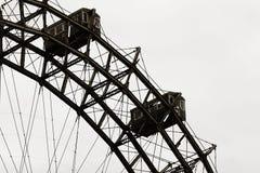 Roda de Wienner Prater Ferris Fotografia de Stock