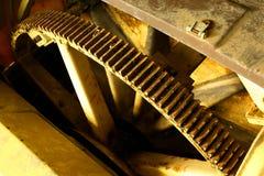 Roda dentada industrial Fotografia de Stock