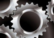A roda denteada conecta Fotografia de Stock Royalty Free