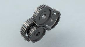 Roda denteada da roda de engrenagem Fotografia de Stock