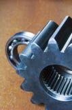 Roda denteada e rolamento de esferas Fotos de Stock Royalty Free