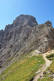 Roda di Vael - Italian Dolomites Royalty Free Stock Photo